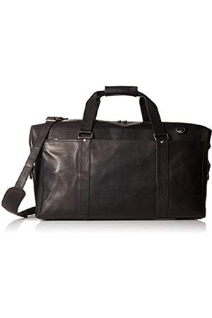Piel Piel Leder extra große Zip-Pocket Duffel - 2997-BLK