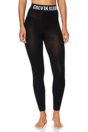Calvin Klein Socks Womens Legging 1p modern Logo Kara Tights, Black