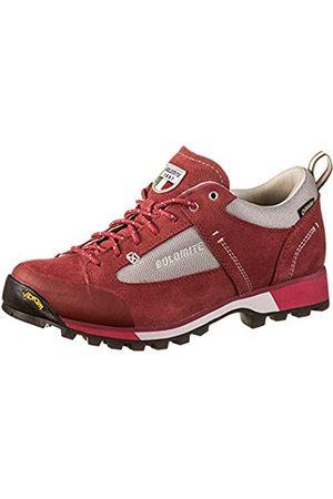 Dolomite Unisex-Erwachsene Zapato Ws Cinquantaquattro Hike Low GTX Schuhe, Burgundy Red/Fuxia Pink