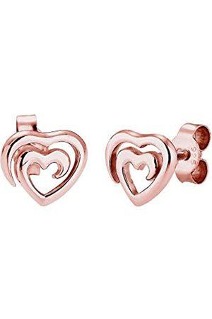 Elli Ohrringe Herz Liebe 925 Sterling Silber
