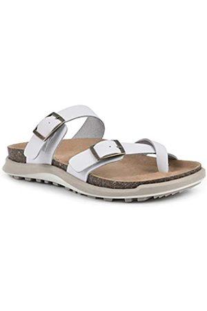White Mountain Damen Powerful Flache Sandale