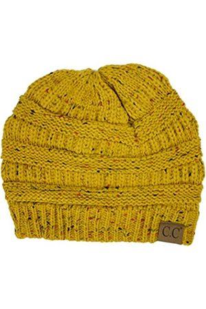 Plum Feathers Damen Hüte - Strickmütze, weich, dehnbar, Zopfmuster