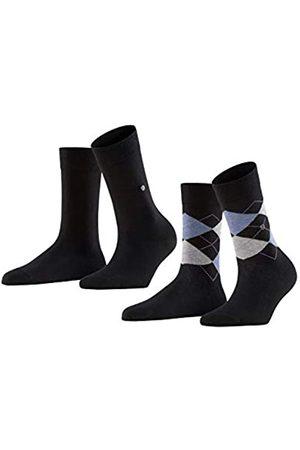 Burlington Damen Socken & Strümpfe - Damen Socken Everyday - Baumwollmischung, 2 Paar