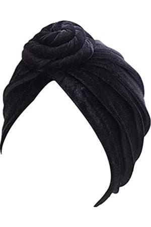 YiYi Operation Damen Caps - Frauen Turban African Knot Pattern Headwrap Chemobeanie