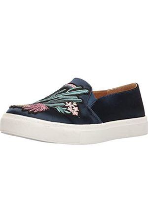 Dirty Laundry By Chinese Laundry Women's Joon Fashion Sneaker, Navy Satin