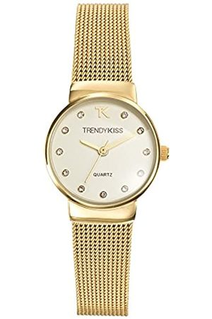 Trendy Kiss Damen-Armbanduhr Analog Quarz Metall TMG10065-07