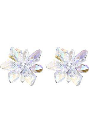 QTMY 1 Paar Kristall-Blumen-Schuh-Clips DIY Jäten Prinzessinnenschuhe Dekoration Zubehör für Frauen Braut (Kristall-Schuh-Clips)