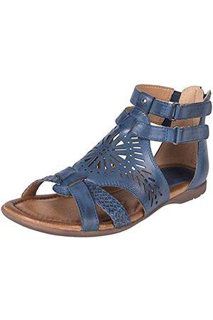 Earth Womens Breaker Sapphire Blue Sandal - 6