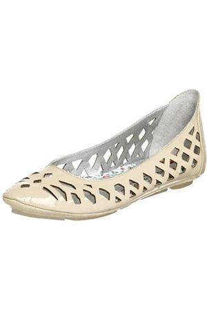 BC Footwear Damen Shag Flat, (Natur)