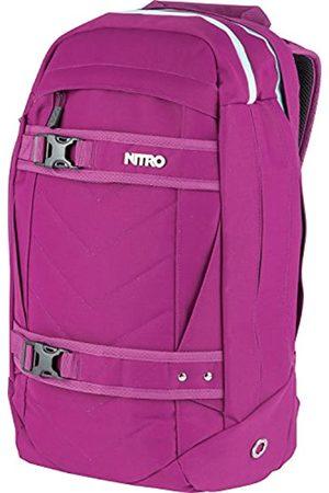 Nitro Aerial Rucksack, Multifunktionsrucksack, Schulrucksack, Daypack, Schoolbag, Sportrucksack, Rucksack mit Tragesystem für Skateboards