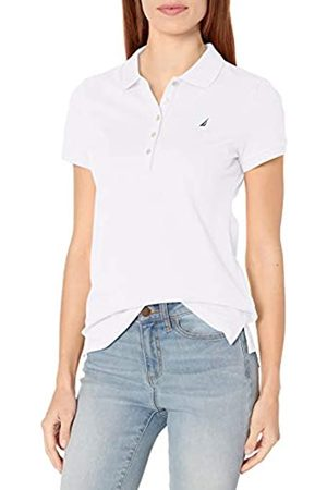 Nautica Damen 5-Button Short Sleeve Breathable 100% Cotton Polo Shirt Poloshirt