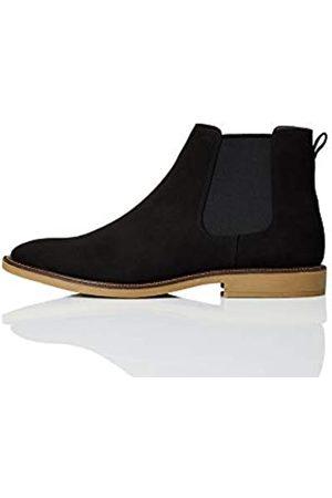 FIND Marsh Chelsea Boots, (Black/Gum)