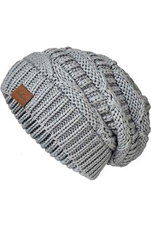 SOMALER Strickmütze für Damen, Oversize, grob, Winter, Slouchy, Beanie-Mütze