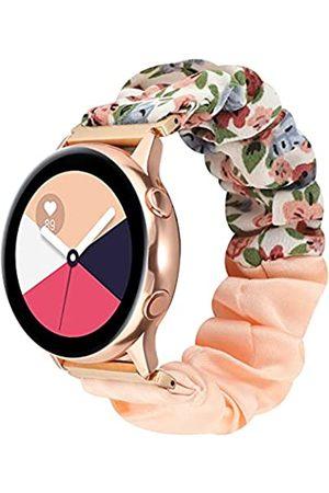 NEWLOTSE Haargummi + elastisches Armband, kompatibel mit Samsung Galaxy Active 2/Galaxy Watch Active/Galaxy Watch 3 (41 mm)
