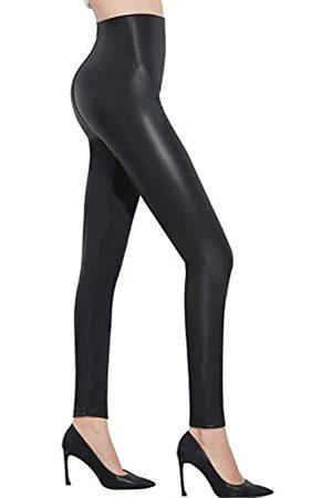 "Pelisy Damen s Kunstleder mit hohen Taille Gamaschen Stretchy dünne Lederhose XL Fit Waist 30""-33""/ Hips 42"""
