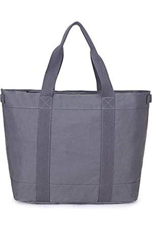 Crest Design Wasserabweisendes Nylon, groß, leicht, für Arbeit, Schule, Reisen, Handtasche, für Laptops bis zu 43,2 cm (17 Zoll)