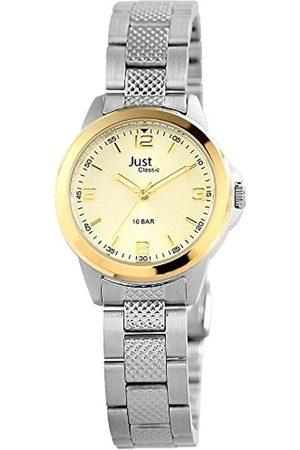 Just Watches Damen-Armbanduhr XS Analog Quarz Edelstahl 48-S41287-BC