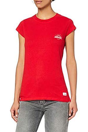 HIKARO Damen T-Shirt mit rundem Ausschnitt, 44