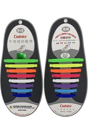 LuoAi Lazy Person Schnürsenkel, 13 Farben, frei bindbar, für Erwachsene, elastisch