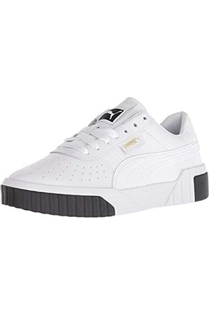 PUMA Damen CALI Sneaker, White Black