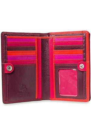 Visconti Penang RB109 Damen-Geldbörse, Leder, mehrfarbig, 10,2 x 15