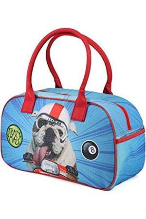 KARACTERMANIA Krazymals Bulldog-Bowling Sporttasche Sporttasche, 40 cm