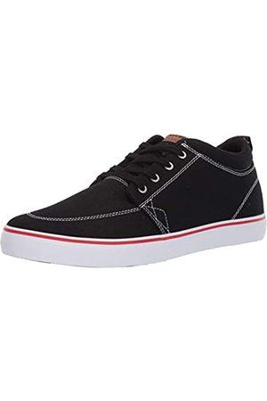 Globe Men's GS Chukka Skate Shoe, Black/White/Canvas
