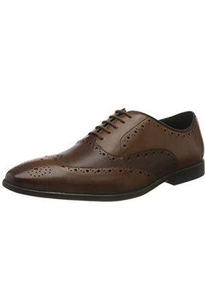 Clarks Herren Bampton Rhodes Oxford-Schuh, Tan Combi