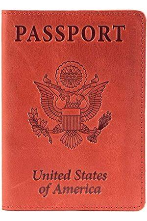 Shvigel Leder Passport Cover – Halterung – für Damen & Herren – Passport Fall