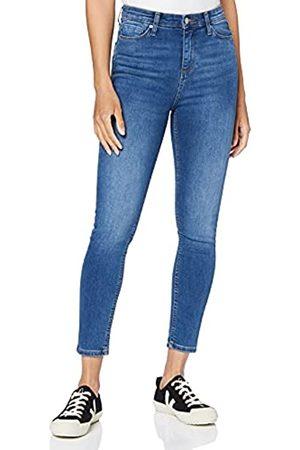 MERAKI Amazon-Marke: Damen Skinny Jeans mit hohem Bund, 34W / 32L
