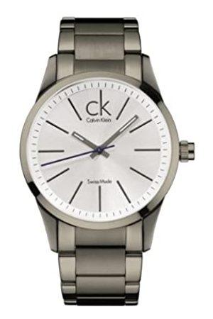 Calvin Klein Herren-Armbanduhr XL Bold Analog Edelstahl K2241620 PVD Titan