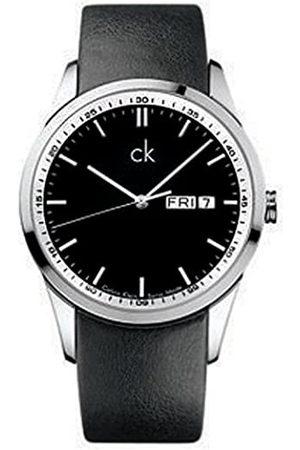 Calvin Klein Herren-Armbanduhr XL Bold Analog Leder K2221175