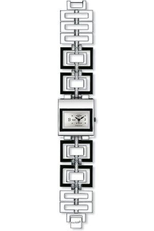 Swatch Irony Damen-Armbanduhr Irony Square Poésie Aussi Yus 118G