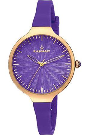 Radiant Damen Analog Quarz Uhr mit Gummi Armband RA336618