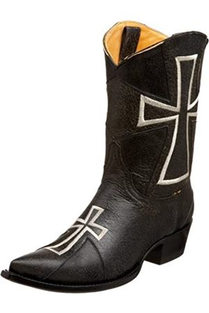 Old Gringo Damen L240-2 Camelot Cowboystiefel, (Crackelada Black)