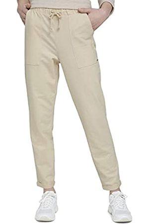 TOM TAILOR Denim Damen 1020325 Joggpants Hose, 22515-Soft Creme