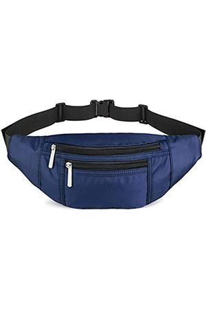 LUSBAM Fanny Packs for Women Fashionable, Waist Pack Bags with 4 Pouches Adjustable Belts, Cute Fashion Belt Bum Bag for Travel, Hiking