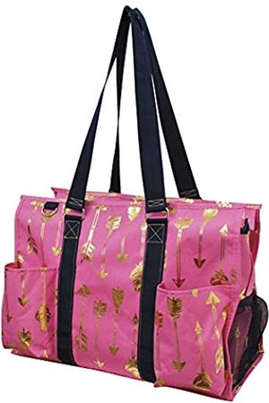 NGIL Große Tasche mit Reißverschluss (Pink) - GARB733_004