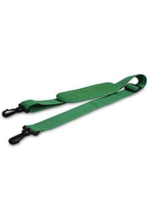 DALIX Premium Ersatzgurt mit Schulterpolster für Laptop Reisetasche, Grün (dunkelgrün)