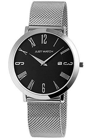 Just Watches Damen Analog Quarz Uhr mit Edelstahl Armband JW20003-005