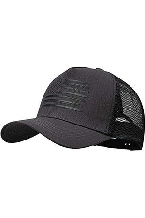 VIONLAN Baseball-Kappe mit amerikanischer Flagge, Snapback-Hut für Herren und Damen, geprägtes Logo, verstellbar