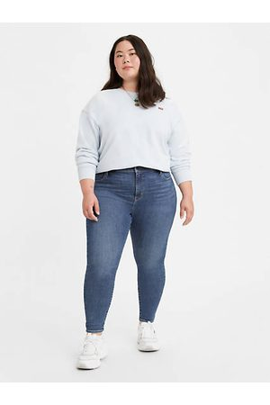 Levi's 720™ High Rise Super Skinny Jeans (Plus Größe) - Medium Indigo / Medium Indigo