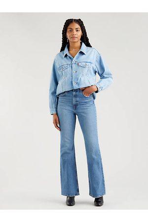 Levi's 70s High Flare Jeans - Dark Blue / Dark Blue
