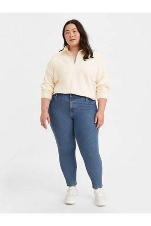 Levi's Damen High Waist Jeans - 721™ High Rise Skinny Jeans (Plus Größe) - Dark Blue / Dark Blue
