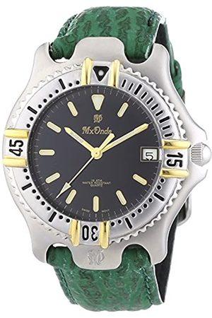Mx Onda Herren Uhren - Herren-Armbanduhr XL Analog Quarz Leder 32-6201-45