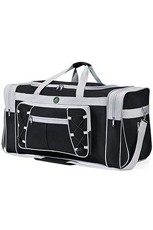 Spring Country Reisetasche für Frauen & Männer Faltbare Weekender-Reisetasche 65 cm Leichtes Oxford-Tuch Extra großes Sportgepäck Riesige Wasser- und Reißfestigkeit