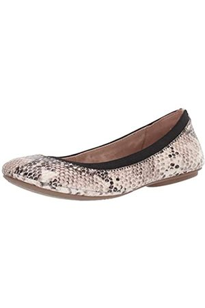 Bandolino Footwear Women's Edition Ballet Flat, Natural Multi/Boa Lux