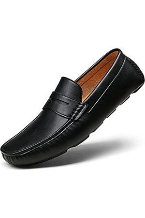 VOSTEY Herren Halbschuhe - Herren Loafers Slip on Schuhe Loafer Fahren Loafer Casual Penny Loafer für Männer, (Bmy3002- )