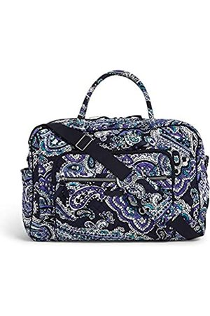 Vera Bradley Damen Iconic Compact Weekender Travel Bag, Signature Cotton Wochenendtasche