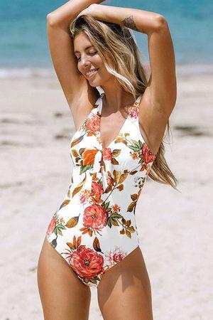 Cupshe Romantischer Badeanzug mit Blumenmuster